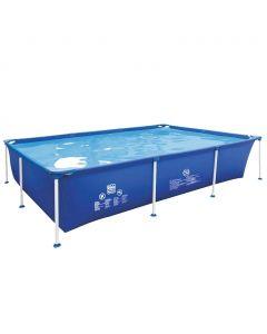 Wehncke Frame zwembad 258x179x66 cm