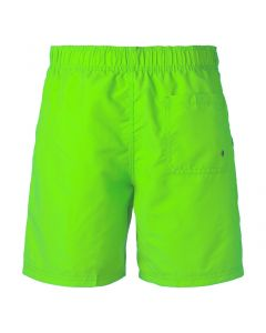 Men's swim shorts solid fluor green