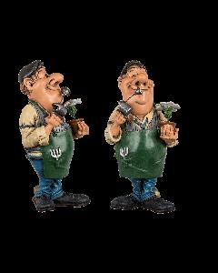 Funny figures - tuinman