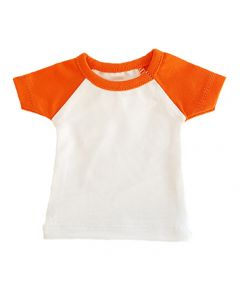 T-shirtsz mini t-shirt white/orange