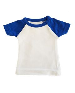 T-shirtsz mini t-shirt white/royal