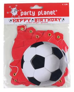 Slinger happy birthday voetbal